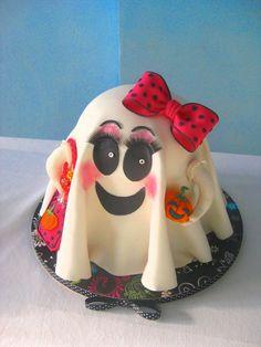 Antonia Ruggieri 2015 - #cakedesign #halloween - torta moretta farcita con crema alla nutella e camy cream