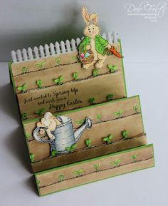 Hoppin' Into Spring - So cute!! I have to remember to try different folds!