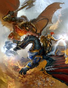 Drakesworn Templar vs Bloodthirster