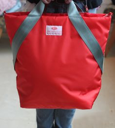 Red. Bag.