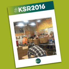 As part of #KSR2016, our Dallas colleagues volunteered at North Texas Food Bank during #HungerActionMonth. Go team!