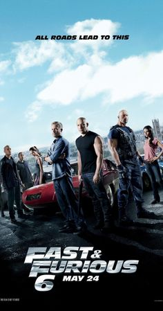 Fast & Furious 6 (2013) Hobbs has Dom and Brian reassemble their crew in order to take down a mastermind who commands an organization of mercenary drivers across 12 countries. Vin Diesel, Paul Walker, Dwayne Johnson