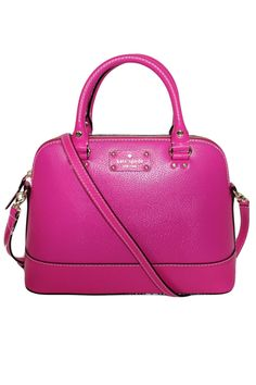 Kate Spade Wellesley Small Rachelle Handbag In Snapdragon Pink - Beyond the Rack