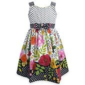I love this Jayne Copeland Girls Dress, Little Girls Floral Dotted Dress! I was thinking about buying it for Kara's birthday party....