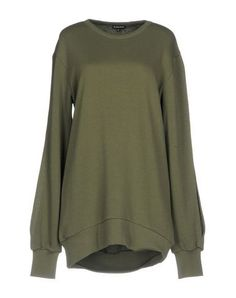 ANN DEMEULEMEESTER Women's Sweatshirt Military green 6 US