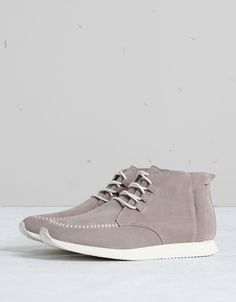 Bershka Belgium - Men's SUEDE fashion ankle boots