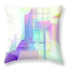 Throw Pillow - Abstract 9599
