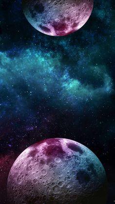 Dual Moon IPhone Wallpaper - IPhone Wallpapers