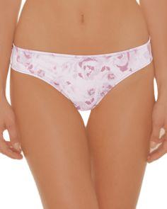la Vie en Rose - Micro and Roses Lace Bikini