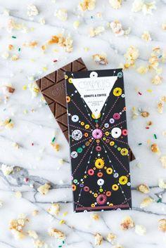 Donuts & Coffee Milk Chocolate Bar