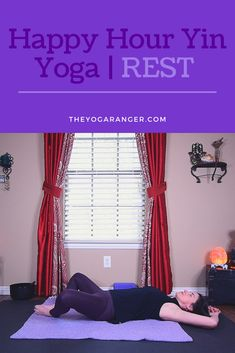 Transition from a busy day to a peaceful evening with this 30 minute Yin Yoga practice!