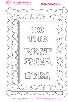 Mother's Day kids art & craft activities, flower and love inspired printables, FREE worksheets, coloring pages, printing and painting techniques, card templates for the classroom, grades 3,4,5,