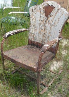 Durham Vintage Metal Chair. Www.midcenturymetalchairs.com