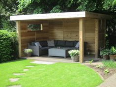 There are lots of pergola designs for you to choose from. First of all you have to decide where you are going to have your pergola and how much shade you want. Backyard Gazebo, Backyard Seating, Garden Gazebo, Backyard Sheds, Backyard Patio Designs, Pergola Designs, Pergola Patio, Backyard Landscaping, Cheap Pergola