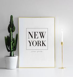 New York, print
