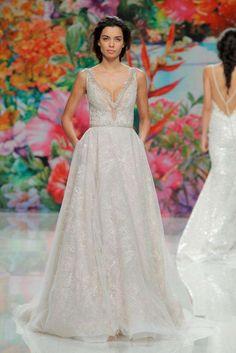 Abiti da sposa Galia Lahav 2017 - Vestito perla con pizzo Galia Lahav