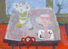 Anne Redpath, The Victorian Vase