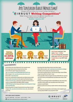#LombaEssay #CIRRUST #WritingCompetition CIRRUST Writing Competition 2017 Lomba Menulis Essay Berhadiah Total 15 Juta Rupiah  DEADLINE: 3 Agustus 2017  http://infosayembara.com/info-lomba.php?judul=cirrust-writing-competition-2017-lomba-menulis-essay-berhadiah-total-15-juta-rupiah
