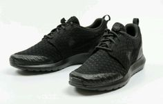 NEW NIKE ROSHE NM FLYKNIT SE 816531 001 Black / Black Men's SZ 7.5 #Clothing, Shoes & Accessories:Men's Shoes:Athletic ##nike #jordan #shoes $135.00