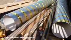 """NIEUWBOUW """"ZOETELIEF"""" DEN HELDER!  Nu de kraan is gemonteerd kan men beginnen met het bouwwerk boven het maaiveld!   foto: liggen er Monotube kolombekisting gereed!"""