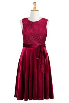 I <3 this Lynette dress from eShakti - might be pretty with a more interesting neckline.