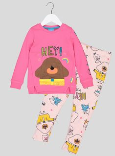 'Hey Duggee' Pink Printed 2 Piece Set months - 6 years) from Tu at Sainsbury's ! Your Online Shop for Girl's Dresses & Outfits Sainsburys, Bnf, Toddler Girl Outfits, 1st Birthday Parties, 6 Years, Cat Cakes, Baby Kids, Girls Dresses, Sweatshirts