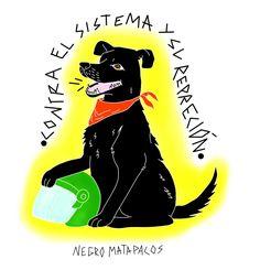 #NegroMataPacos | El arte detrás de un símbolo de revolución social Protest Posters, Ferrari Logo, Blog, League Of Legends, Tattoo Designs, Embroidery, Stickers, Drawings, Fictional Characters