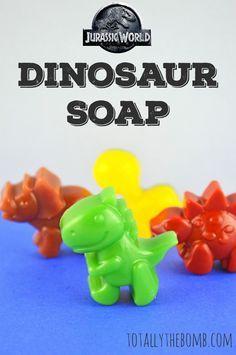 Jurassic World Inspired Dinosaur Soap