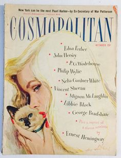 Cosmopolitan magazine, OCTOBER 1947 Artist: Coby Whitmore