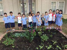 Our gardening team!