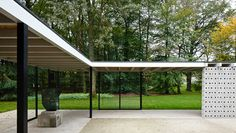Rietveld Pavilion by Gerrit Rietveld at the Kröller-Müller Museum | Daily Icon