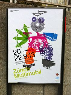 Poster for an event in Zurich, Switzerland. #swiss #graphicdesign