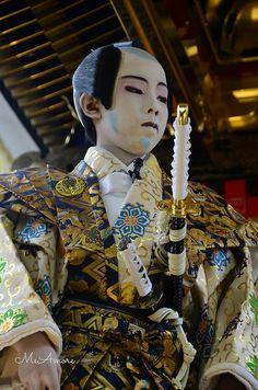 Kodomo Kabuki [Kabuki is a form of theatre]
