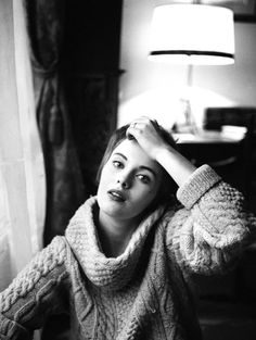 1960. Jean Seberg par Mario Dondero