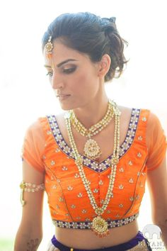 We're back with day two of Fifty Shades of Inspiration!  The whole rainbow gammut of colors with tons of inspirational wedding photos.  Today we're about ORANGE!  Orange is an extremely versatile color for South Asian weddings.  From pale and pastel oranges in peaches and creams, to bright orange reds, to classic orange in tangerine and marigold to  [...]