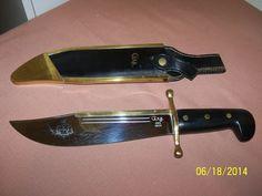 CASE XX 1836 BOWIE KNIFE & SHEATH  #Case