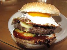 Sunny Side Up Burger