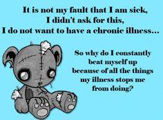 Tom's ME/CFS and Chronic Illness Page Fibromyalgia, arthritis, and mental illness for me personally Chronic Fatigue Syndrome Diet, Chronic Fatigue Symptoms, Chronic Migraines, Chronic Pain, Rheumatoid Arthritis, Chronic Illness Quotes, Mental Illness, Fibromyalgia Pain, Arthritis