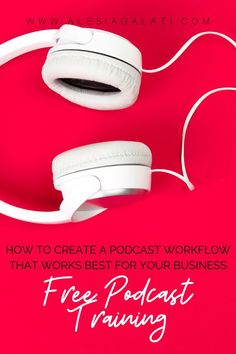 Would you like my FREE training to keep your podcast workflow on track every week? Grab my FREE Podcast Workflow Training! Swipe the extensive process I use for my high-level podcast clients! This training includes a video, full-length checklist, and Trello board to guide you through each step of your podcast production without forgetting something! Working Mom Tips, Video Full, Free Training, Business Entrepreneur, High Level, Money Management, Track, Product Launch, Female