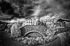 una foto di gruppo un pò alternativa, molto in posa e in infrarosso... della serie facciamolo strano.. almeno per me