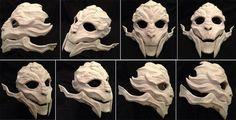 Angles, Female Turian Mask by Archeopteryx-Lyrica.deviantart.com on @deviantART