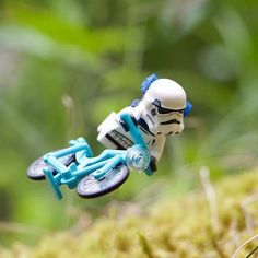 """Biking Stormtrooper"" Congratulations to the LEGO HUB Photographer of the..."