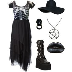 I have the hat, the boots and the lipstick, so the rest would be amazing ;o