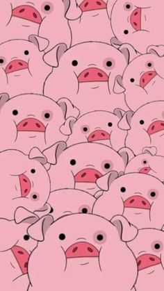 Waddles from Gravity Falls Pig Wallpaper, Cartoon Wallpaper Iphone, Disney Phone Wallpaper, Fall Wallpaper, Iphone Background Wallpaper, Kawaii Wallpaper, Cute Cartoon Wallpapers, Cellphone Wallpaper, Aesthetic Iphone Wallpaper