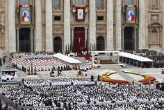 The Wounds of Jesus: Homily of Pope Francis at the Canonization of St. John XXIII and St. John Paul II