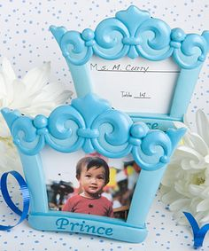 Beautiful Baby Shower Favor Picture Frames