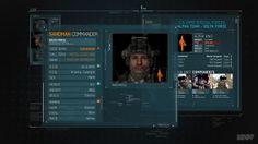 Call Of Duty: MW3 / UI Animation Test by lazycreative. Call Of Duty: MW3 / High Tech Cut Scenes Development