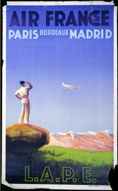 Air France - Paris Madrid -
