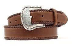 Top Hand Basic Western Belt in Brown