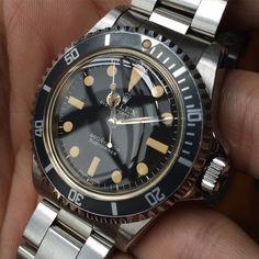 Rolex 5513, Rolex Submariner 5513, Sport Watches, Cool Watches, Watches For Men, Rolex Vintage, Vintage Watches, Luxury Watches, Rolex Watches
